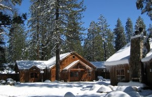 Evergreen Lodge recycles a million gallons of greywater a year, even in the snow