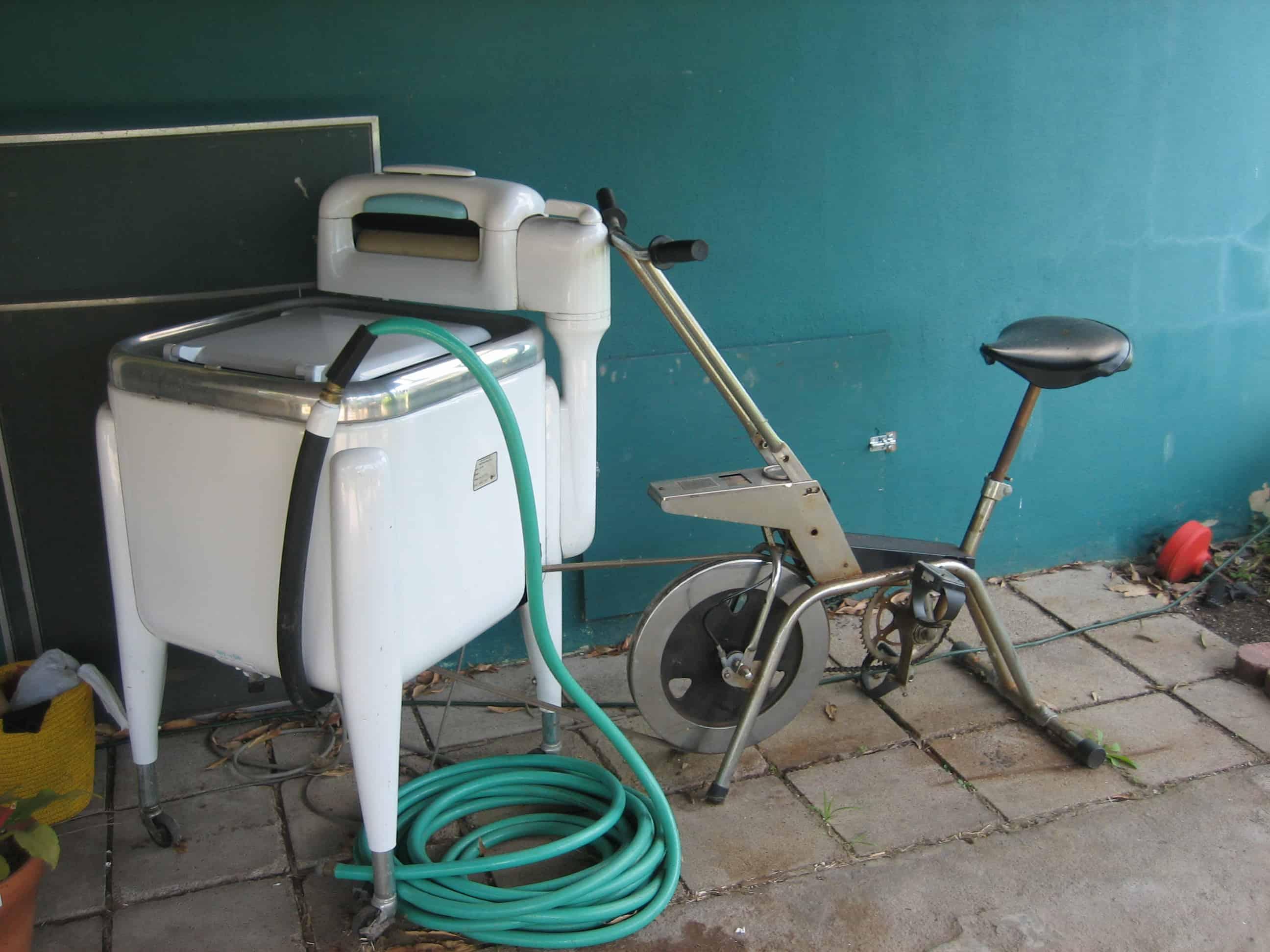 pedal washer machine