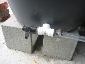 Connection for garden hose