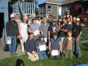 Graduates of installer's course
