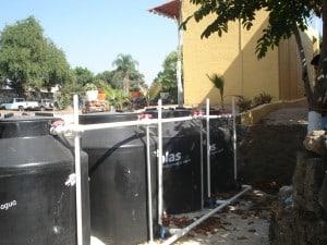 Public bathroom urine collection (photo from SARAR)