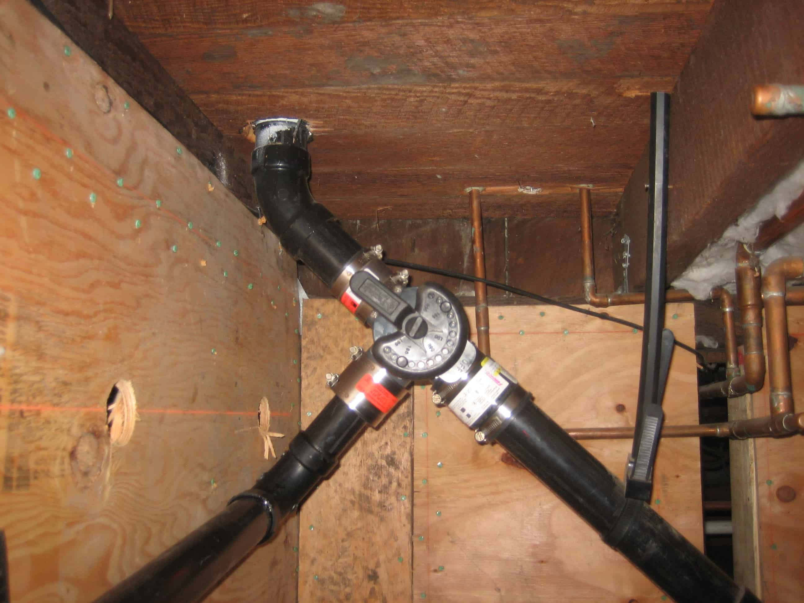 Kitchen Sink System- Branched Drain - Greywater Action