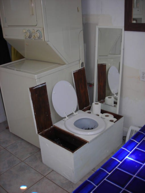 Composting Toilet In A San Francisco Home Greywater Action