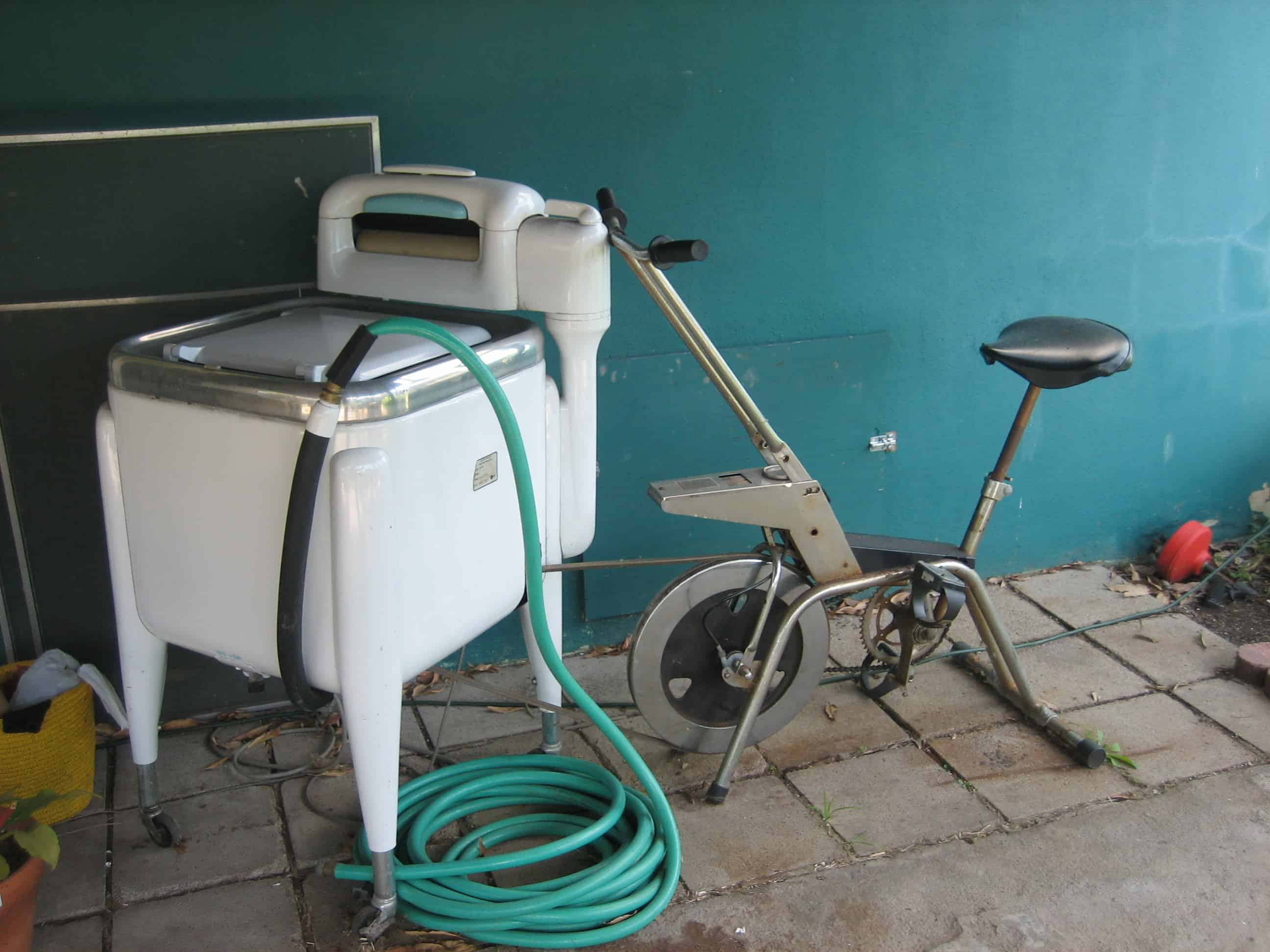 Diy Pedal Powered Washers Greywater Action